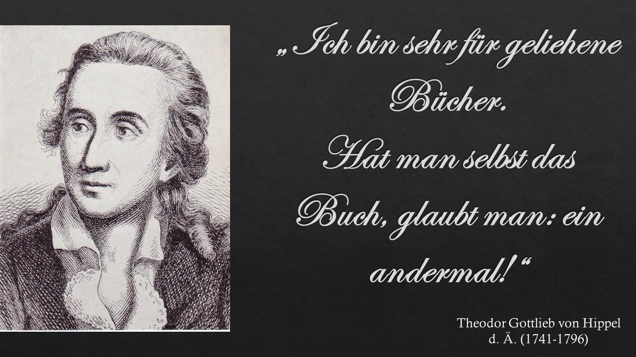 Theodor Gottlieb von Hippel d. Ä.