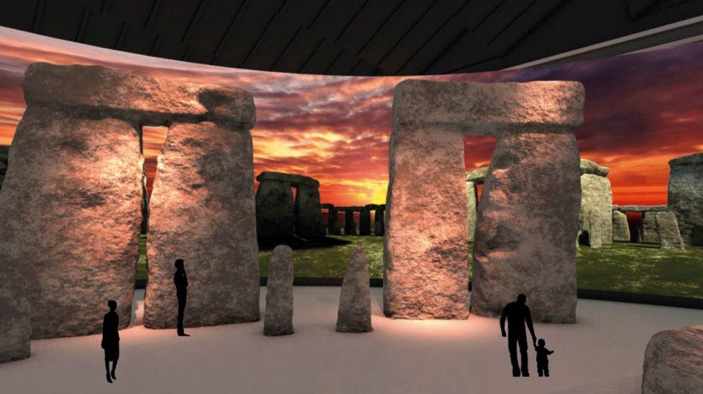 3D-Visualisierung von Stonehenge Bild LBI ArchPro LWL Christiane Schmidt