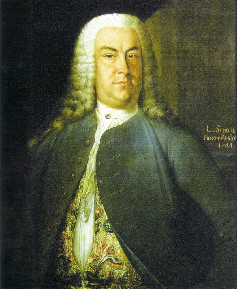 Johann Christoph Gottsched, Gemälde von Leonhard Schorer, 1744