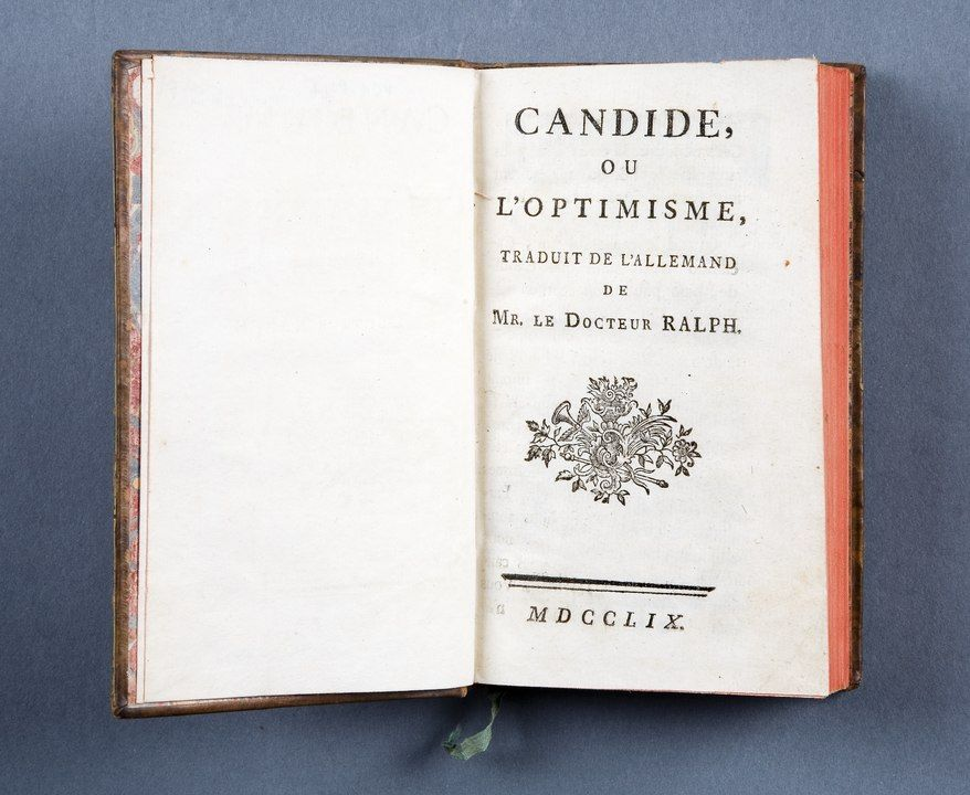 "Voltaire ""Candide"""