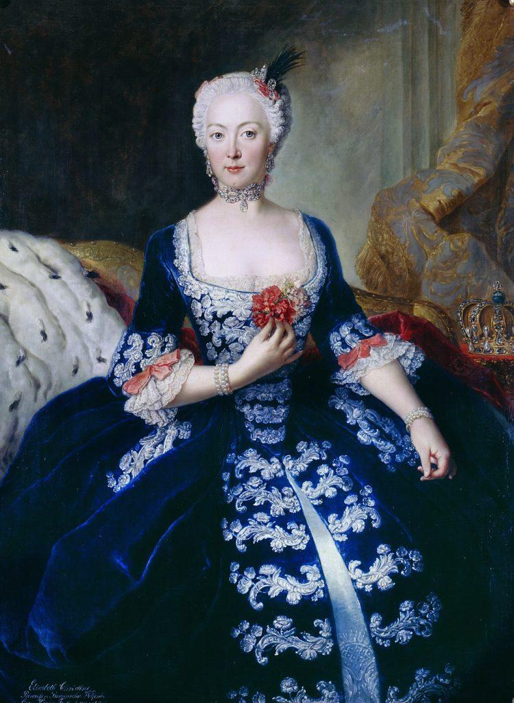 Königin Elisabeth Christine von Preußen, ihr Kammerherr war Ernst Ahasverus Heinrich von Lehndorff