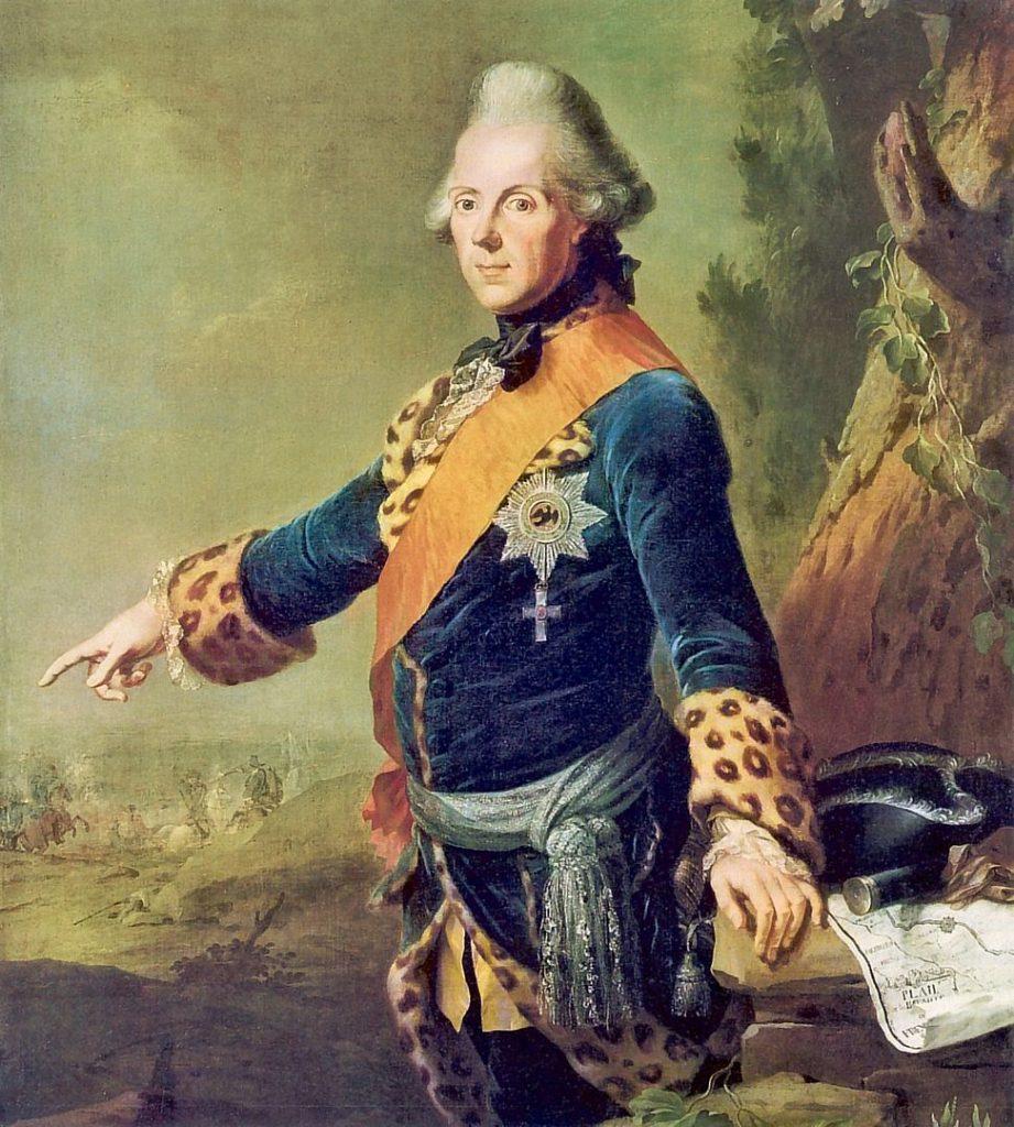 Prinz Heinrich von Preußen - oft genannt in den Tagebüchern von Ernst Ahasverus Heinrich von Lehndorff in Verbindung mit der Gräfin Bentinck