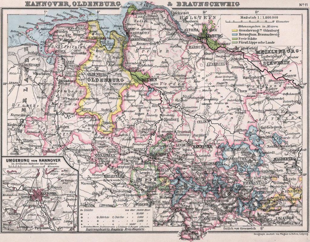Oldenburg Bibliothek allgemeinen und praktischen Wissens für Militäranwärter Band I, 1905