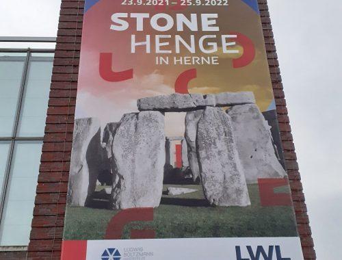 Plakat Stonehenge in Herne