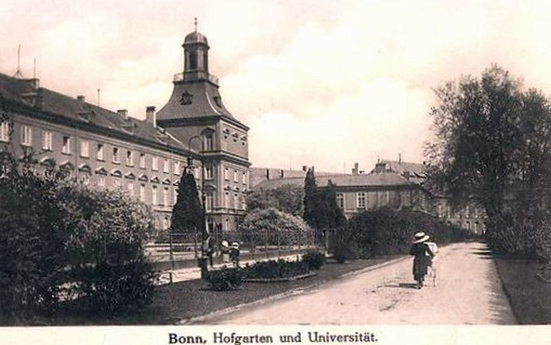 Uni bonn um 1900