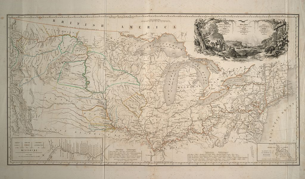 Karte Prinz Maximilian Wied