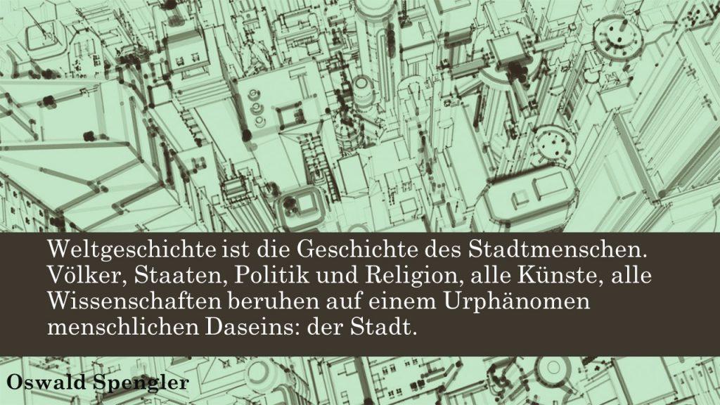 Weltgeschichte ist Stadtgeschichte, Spengler