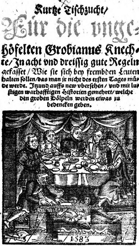 Grobianus Tischzucht